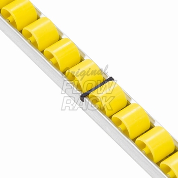 Heavy-duty Röllchenleiste für Durchlaufrahmen T=1230 mm