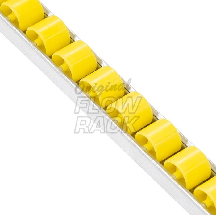 Standard Röllchenleiste für Durchlaufrahmen T=1230 mm