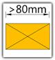Kanban 1500x1230 mm schräg - Teppich, Lagergut B>80mm
