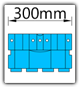 Kanban 1500x1230 mm schräg - KLT-VDA B=300mm