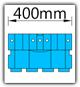 Kanban 1500x1230 mm gerade - KLT-VDA B=400mm