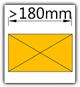 Kanban 1900x1230 mm gerade - Teppich, Lagergut B>180mm